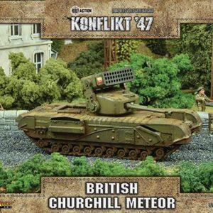 Warlord Games Konflikt '47  British (K47) British Churchill Meteor - 452010601 - 5060393709404