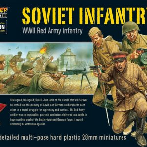 Warlord Games Bolt Action  Soviet Union (K47) Soviet Infantry (40) - 402014003 - 5060200844427