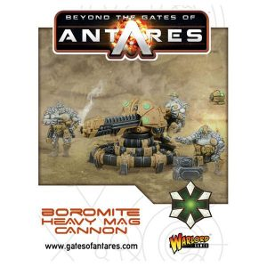 Warlord Games Beyond the Gates of Antares  Boromite Guilds Boromite Heavy Mag Cannon - 502412002 - 5060393704997