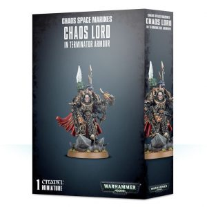 Games Workshop Warhammer 40,000  Chaos Space Marines Chaos Space Marine Terminator Lord - 99120102093 - 5011921111152