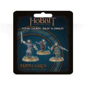 Games Workshop (Direct) Middle-earth Strategy Battle Game  Good - The Hobbit The Hobbit: Young Thorin, Balin and Dwalin - 99801465019 -