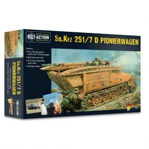 Warlord Games Bolt Action  Germany (BA) German Sd.Kfz 251 D Pionierwagen - 402012040 - 5060572505988