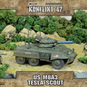 Warlord Games Konflikt '47  USA (K47) M8A3 Tesla Scout - 452410407 - 5060572500273