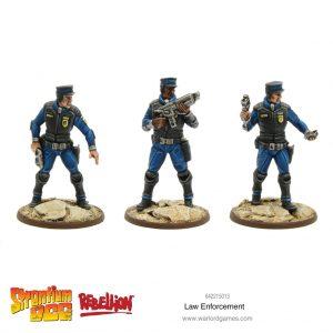 Warlord Games Strontium Dog  Strontium Dog Strontium Dog: Law Enforcement - 642215013 - 5060572502505