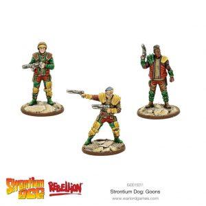 Warlord Games Strontium Dog  Strontium Dog Strontium Dog: Goons - 643015011 - 5060572500761