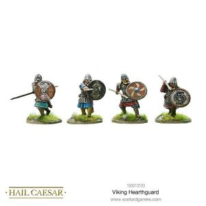 Warlord Games Hail Caesar  The Dark Ages Viking Hearthguards - 103013103 - 5060572500082