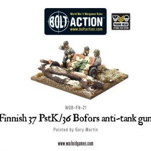 Warlord Games Bolt Action  Finland (BA) Finnish 37 PstK/36 Bofors anti-tank gun - WGB-FN-21 - 5060200847640