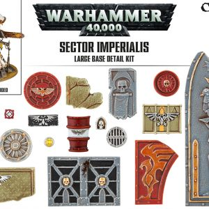 Games Workshop   Games Workshop Bases Sector Imperialis Large Base Detail Kit - 99120199042 - 5011921073184