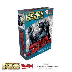 Warlord Games Judge Dredd  Judge Dredd Judge Dredd: Arch Villains of Mega City 1 - 652210201 - 5060572503496