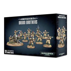 Games Workshop Warhammer 40,000  Genestealer Cults Genestealer Cults Brood Brothers - 99120117010 - 5011921109951