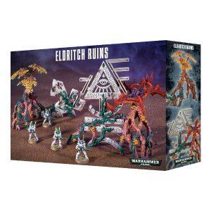Games Workshop (Direct) Warhammer 40,000  40k Terrain Deathworld: Eldritch Ruins - 99120104040 - 501192107321-4