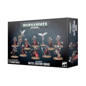 Games Workshop Warhammer 40,000  Adepta Sororitas Adepta Sororitas Battle Sisters Squad - 99120108033 - 5011921131167