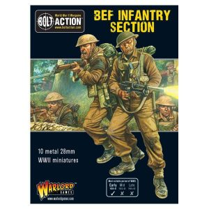 Warlord Games Bolt Action  Great Britain (BA) BEF Infantry Section - 402211005 - 5060393706991