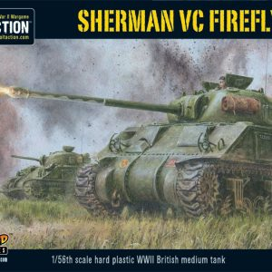 Warlord Games Bolt Action  Great Britain (BA) Sherman Firefly VC (plastic) - 402011005 - 5060393703747