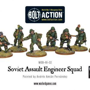 Warlord Games Bolt Action  Soviet Union (K47) Soviet Assault Engineer squad - WGB-RI-30 - 5060200843901