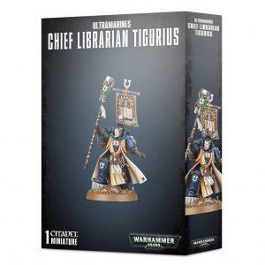 Games Workshop Warhammer 40,000  Ultramarines Ultramarines Chief Librarian Tigurius - 99120101329 - 5011921142583