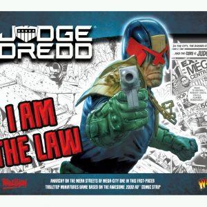 Warlord Games Judge Dredd  Judge Dredd Judge Dredd: I Am The Law Starter Set - 651510001 - 5060572505209