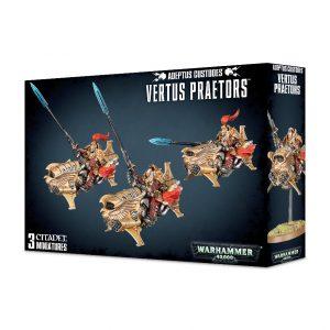 Games Workshop Warhammer 40,000  Adeptus Custodes Adeptus Custodes Vertus Praetors - 99120108014 - 5011921094233