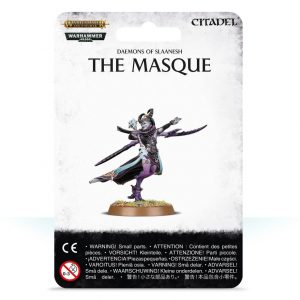 Games Workshop Warhammer 40,000 | Age of Sigmar  Chaos Daemons Daemons of Slaanesh The Masque - 99079915007 - 5011921114047