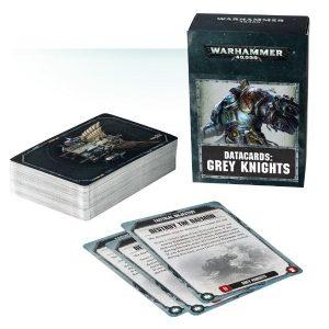 Games Workshop Warhammer 40,000  Grey Knights Datacards: Grey Knights - 60220107002 - 5011921087006