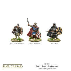 Warlord Games Hail Caesar  The Dark Ages Saxon Kings - 9th Century - 103013014 -