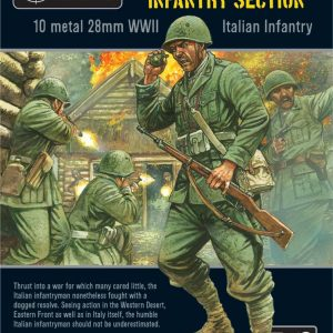 Warlord Games Bolt Action  Italy (BA) Italian Infantry Section - WGB-II-02 - 5060393700890