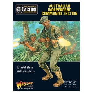 Warlord Games Bolt Action  Australia (BA) Australian Independent Commando squad - 402211202 - 5060393706014