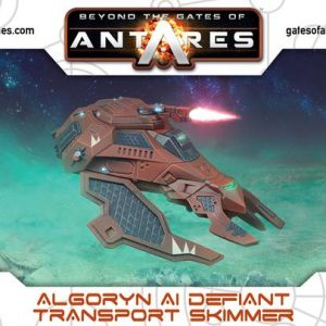 Warlord Games Beyond the Gates of Antares  Algoryn Algoryn AI Defiant Transport Skimmer - 502411012 - 5060393709893