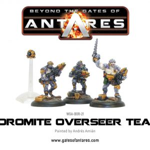 Warlord Games Beyond the Gates of Antares  Boromite Guilds Boromite Overseer Team - WGA-BOR-21 - 5060393700159