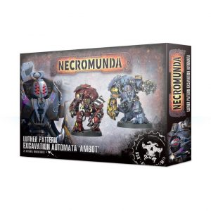 Games Workshop Necromunda  Necromunda Necromunda: Luther Pattern Excavation Automata - 99120599009 - 5011921116881