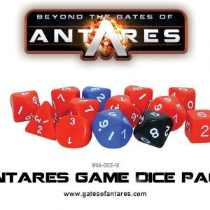 Warlord Games Beyond the Gates of Antares  Antares Essentials Antares Game Dice Pack - WGA-DICE-10 - 5060393703181