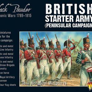 Warlord Games Black Powder  British (Napoleonic) Napoleonic British Starter Army (Peninsular Campaign) - 309911006 - 5060393708469
