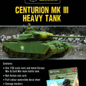 Warlord Games Bolt Action  Great Britain (BA) British Centurion Mk III - 405118001 - 5060572503519