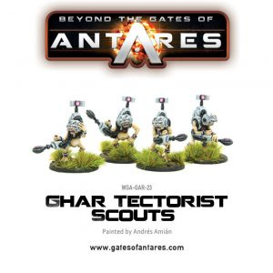 Warlord Games Beyond the Gates of Antares  Ghar Empire Ghar Tectorists Scouts - WGA-GAR-23 -