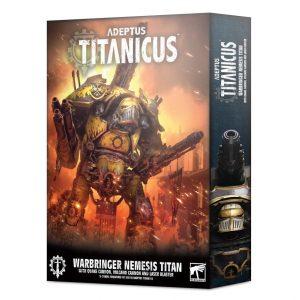 Games Workshop Adeptus Titanicus  Adeptus Titanicus Adeptus Titanicus: Warbringer Nemesis Titan with Quake Cannon, Volcano Cannon and Laser Blaster - 99120399016 - 5011921133147