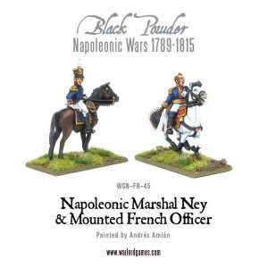 Warlord Games Black Powder  French (Napoleonic) Marshal Ney & Mounted French Officer - WGN-FR-45 -
