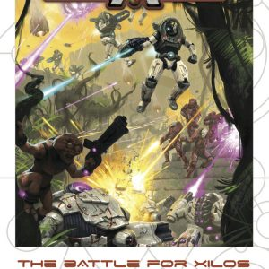 Warlord Games Beyond the Gates of Antares  Antares Essentials The Battle for Xilos - Antares Supplement - 509910009 - 9780993058981
