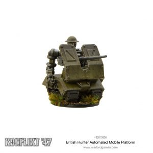 Warlord Games Konflikt '47  British (K47) Konflikt '47: British Hunter Automated Mobile Platform - 453010606 - 5060572501256