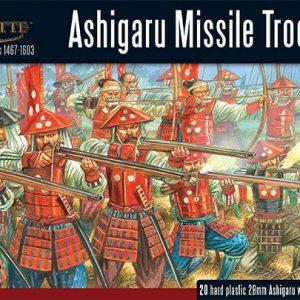 Warlord Games Pike & Shotte  Feudal Japan 1467-1603 Ashigaru Missile Troops - 202014003 - 5060393706939