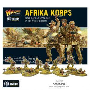 Warlord Games Bolt Action  Germany (BA) Afrika Korps Infantry - 402012030 - 5060572501072