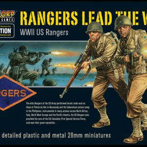 Warlord Games Bolt Action  United States of America (BA) US Rangers - WGB-AI-02 - 5060200843567