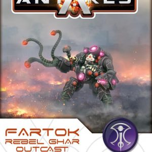 Warlord Games Beyond the Gates of Antares  Ghar Rebels Fartok, Ghar Outcast Rebels Commander - WGA-GAR-10 - 5060393703884