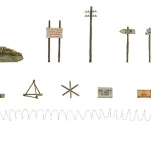Warlord Games Bolt Action  Bolt Action Extras Bolt Action Battlefield Accessories - 402010001 - 5060572503106