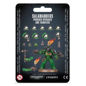 Games Workshop Warhammer 40,000  Decals Salamanders Primaris Upgrades & Transfers - 99070101051 - 5011921140855