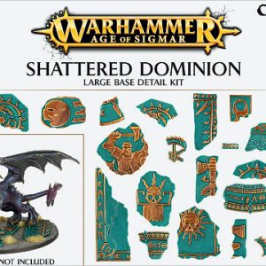 Games Workshop   Games Workshop Bases Shattered Dominion (large base detail) - 99120299036 - 5011921073146