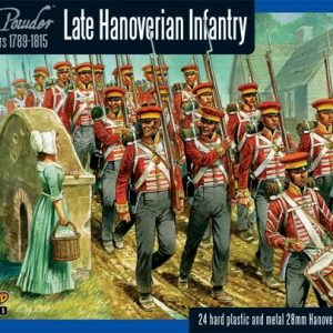 Warlord Games Black Powder  British (Napoleonic) Hanoverian Infantry (24) - WGN-BR-13 - 5060393702153
