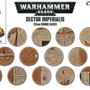 Games Workshop   Games Workshop Bases Sector Imperialis Base Pack (32mm) - 99120199039 - 5011921073153