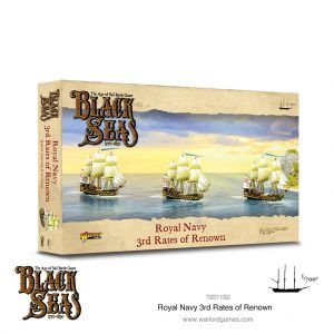 Warlord Games Black Seas  Black Seas Black Seas: Royal Navy 3rd Rates of Renown - 792011002 - 5060572505803