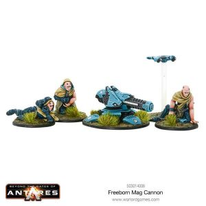 Warlord Games Beyond the Gates of Antares  Freeborn Freeborn Mag Cannon - 503014006 - 5060393705963