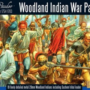 Warlord Games Black Powder  American War of Independence Woodland Indian War Party - WG7-FIW-01 - 5060200844502